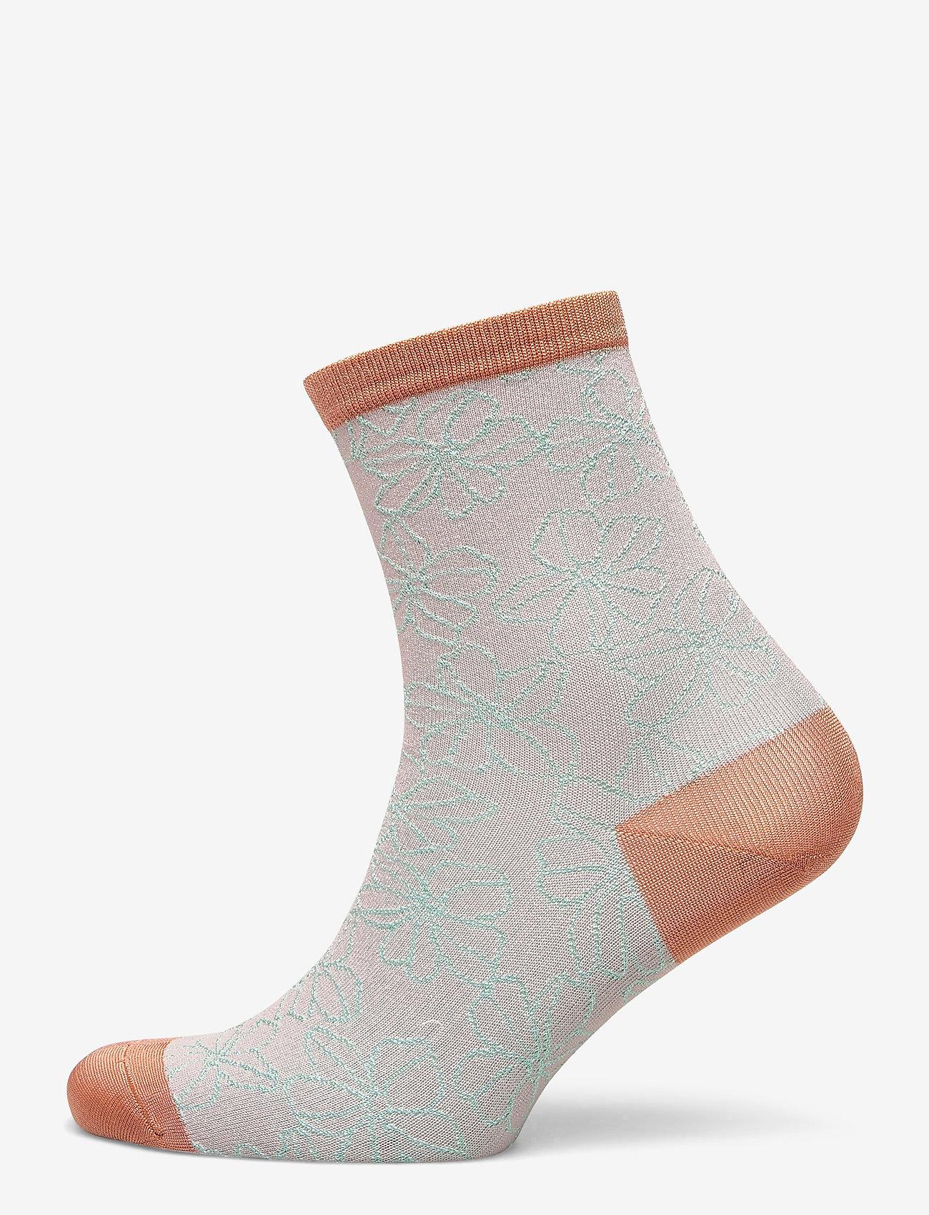Becksöndergaard - Flowdy Sora Sock - sokker - violet ice - 0