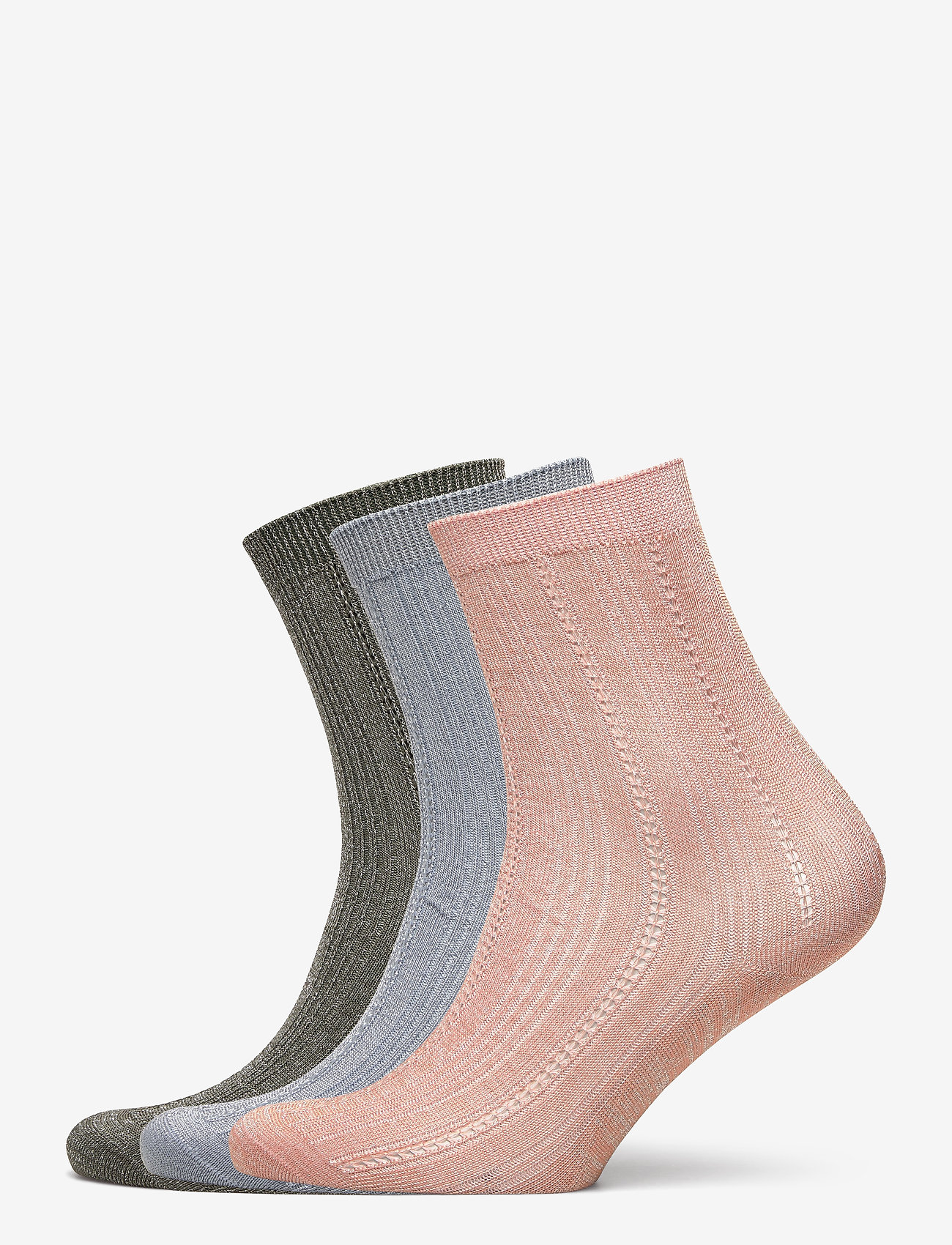 Becksöndergaard - Mix Sock Pack W. 10 - sokker - army/blue/violetice - 0