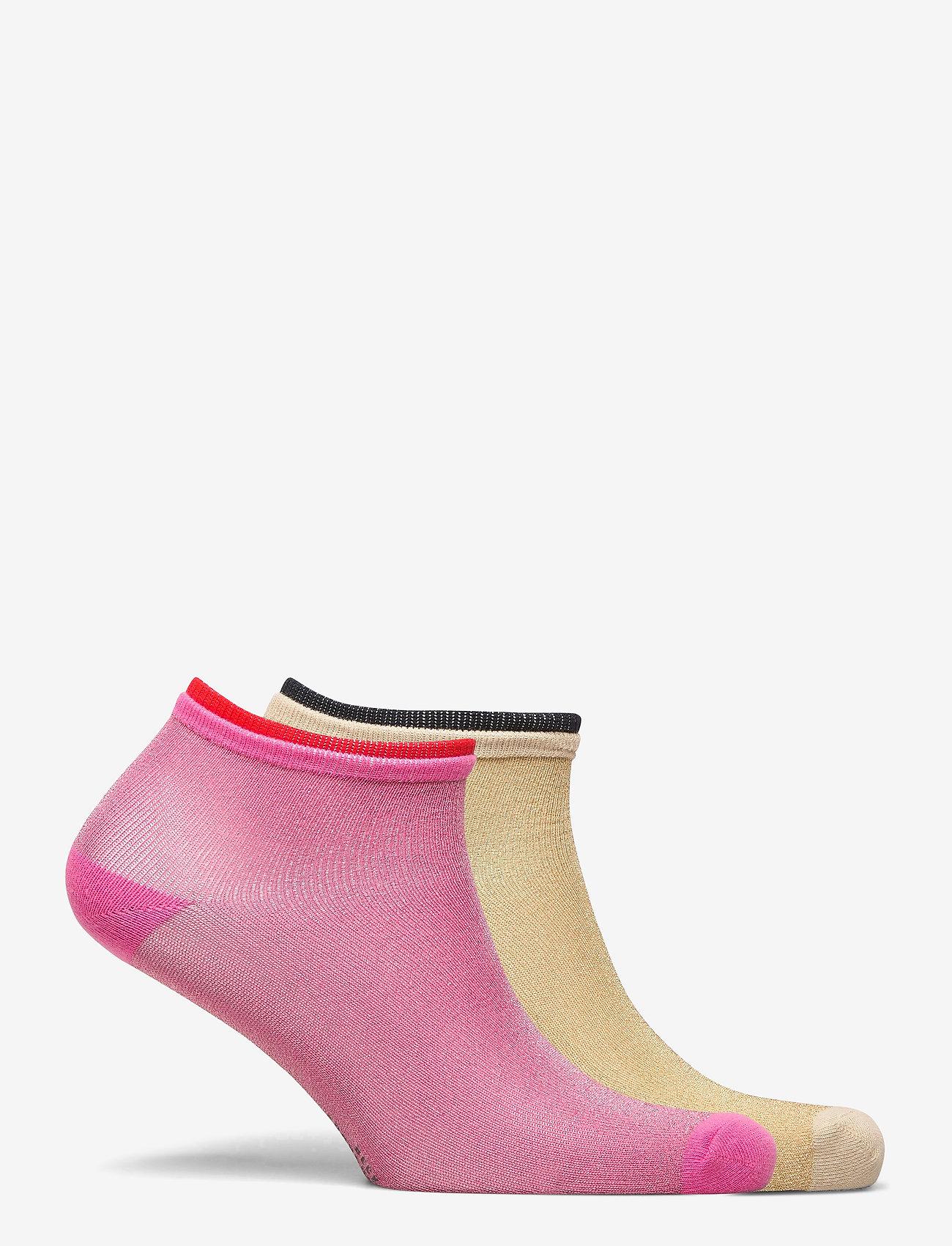Becksöndergaard - Mix Sock Pack W. 16 - steps & footies - bubblegum/gray - 1