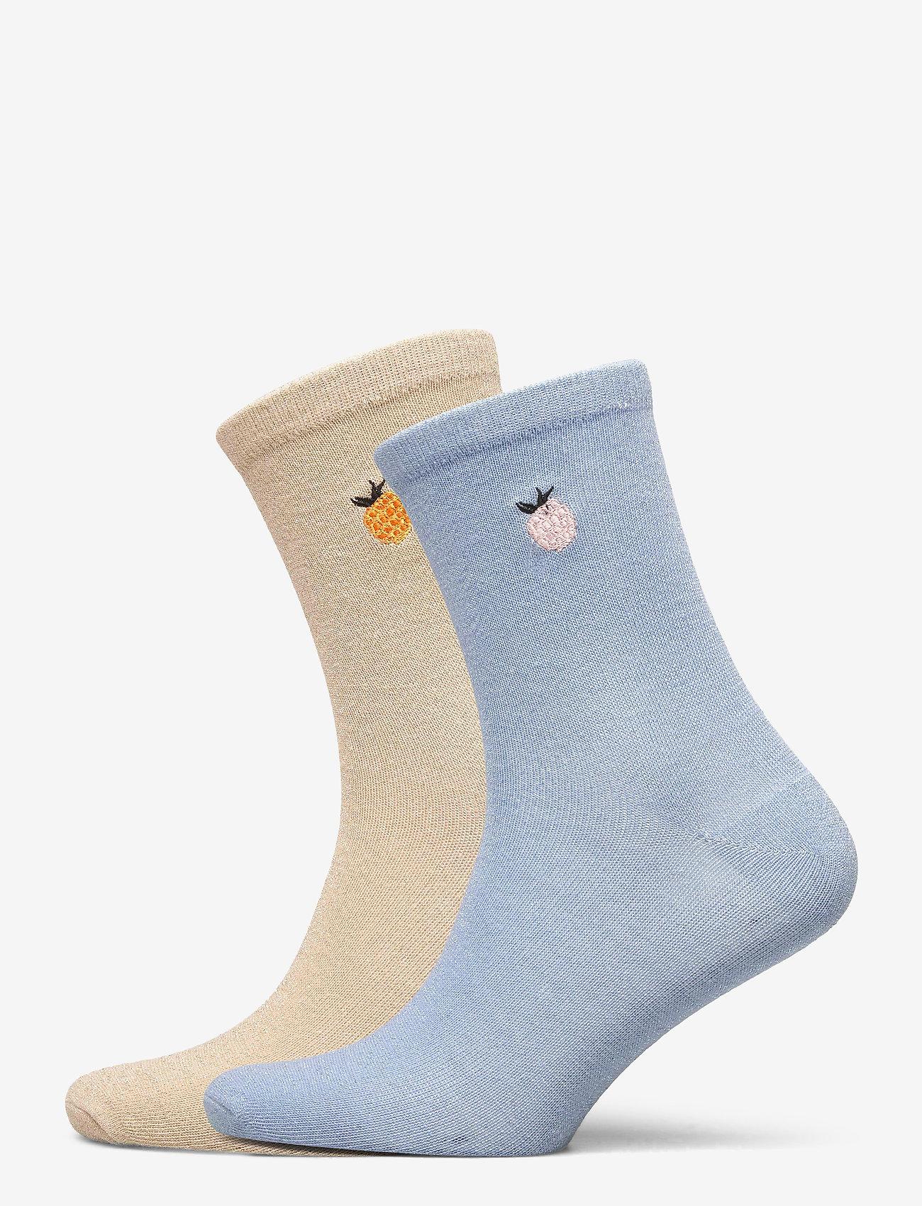 Becksöndergaard - Mix Sock Pack W. 19 - sokker - gray/blue - 0