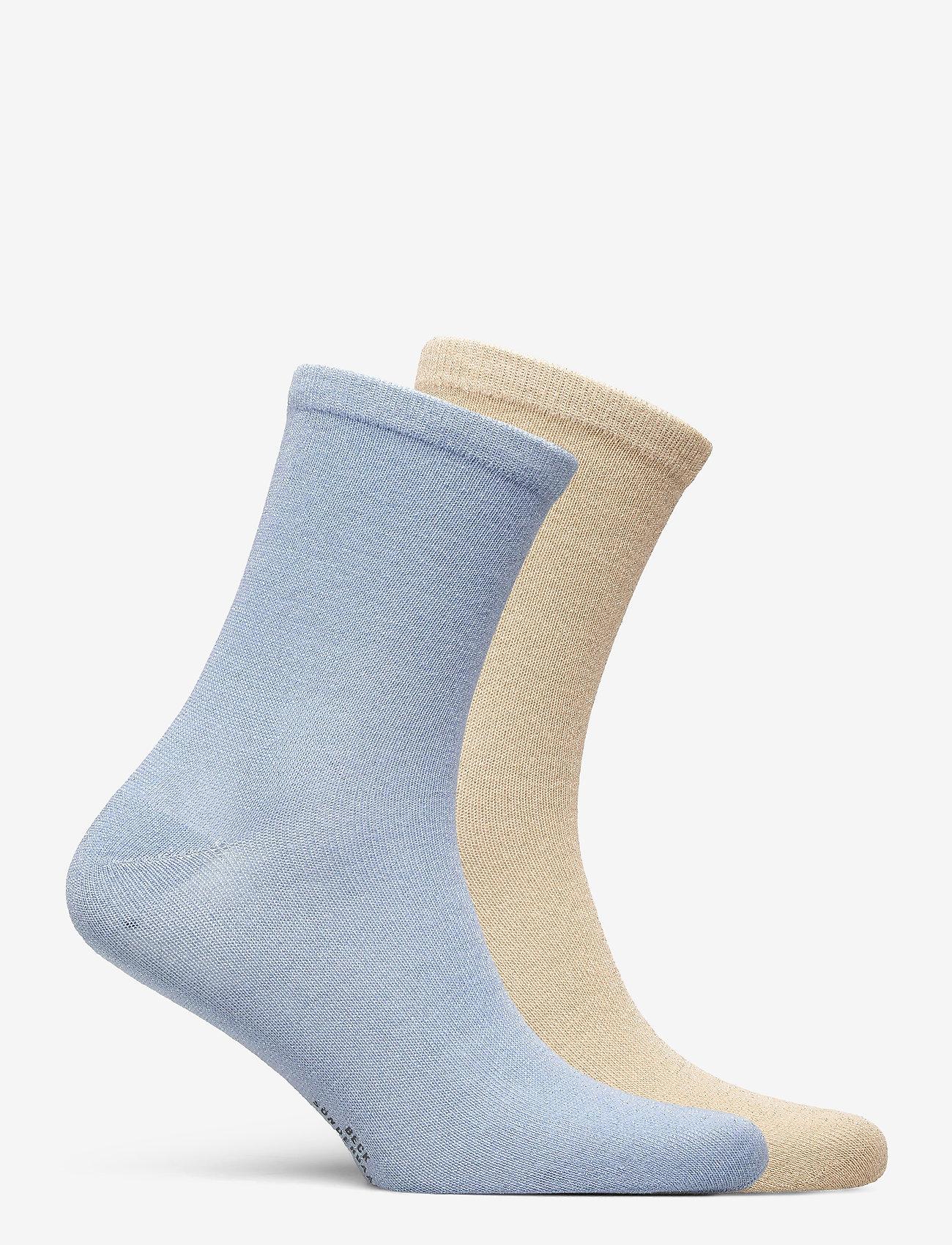 Becksöndergaard - Mix Sock Pack W. 19 - sokker - gray/blue - 1