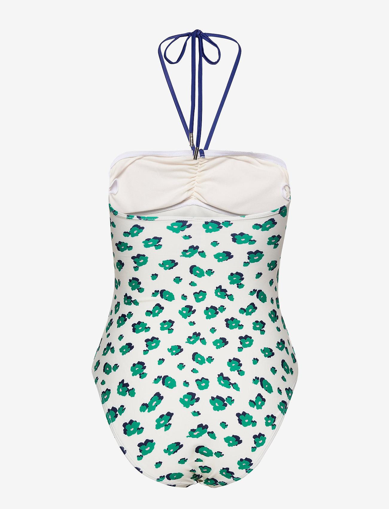 Becksöndergaard - Amapoly Bandeau Swimsuit - badedrakter - off white - 1