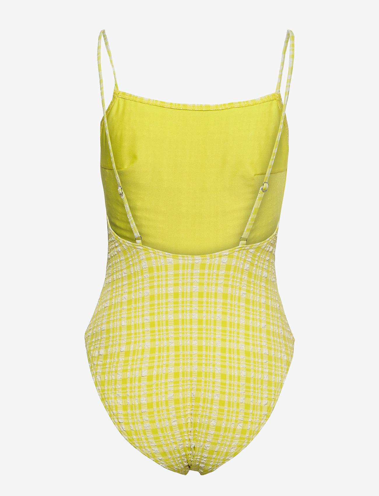 Becksöndergaard - Eli Swimsuit - badedrakter - yellow - 1