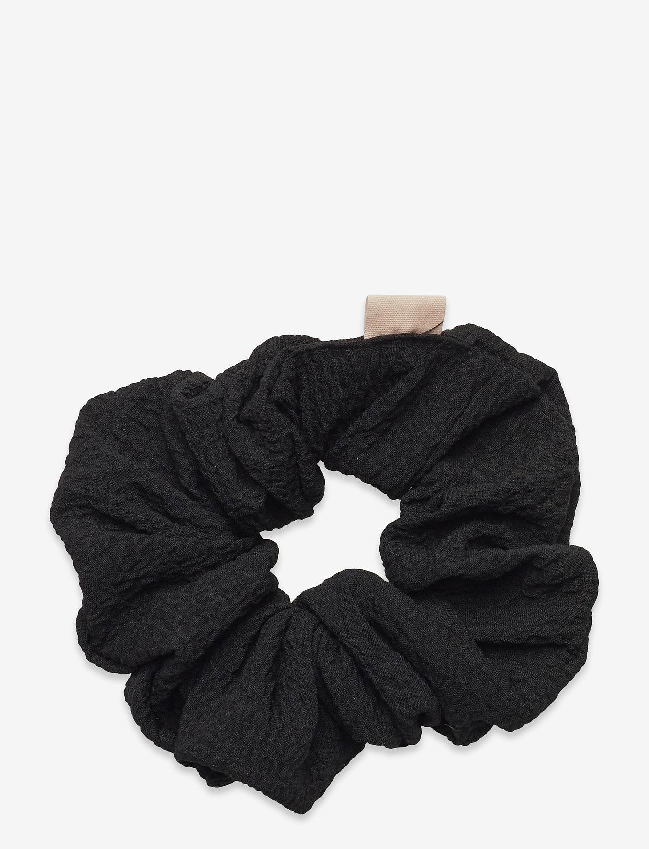 Becksöndergaard - Structured Scrunchie - haar accessoires - black - 0