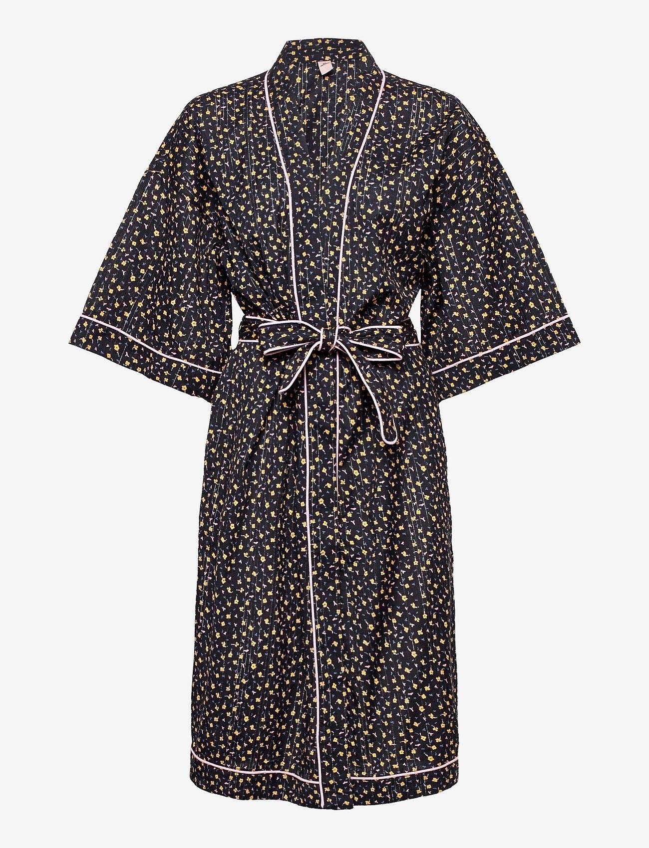 Becksöndergaard - Picola Liberte Kimono - kimonos - black - 0