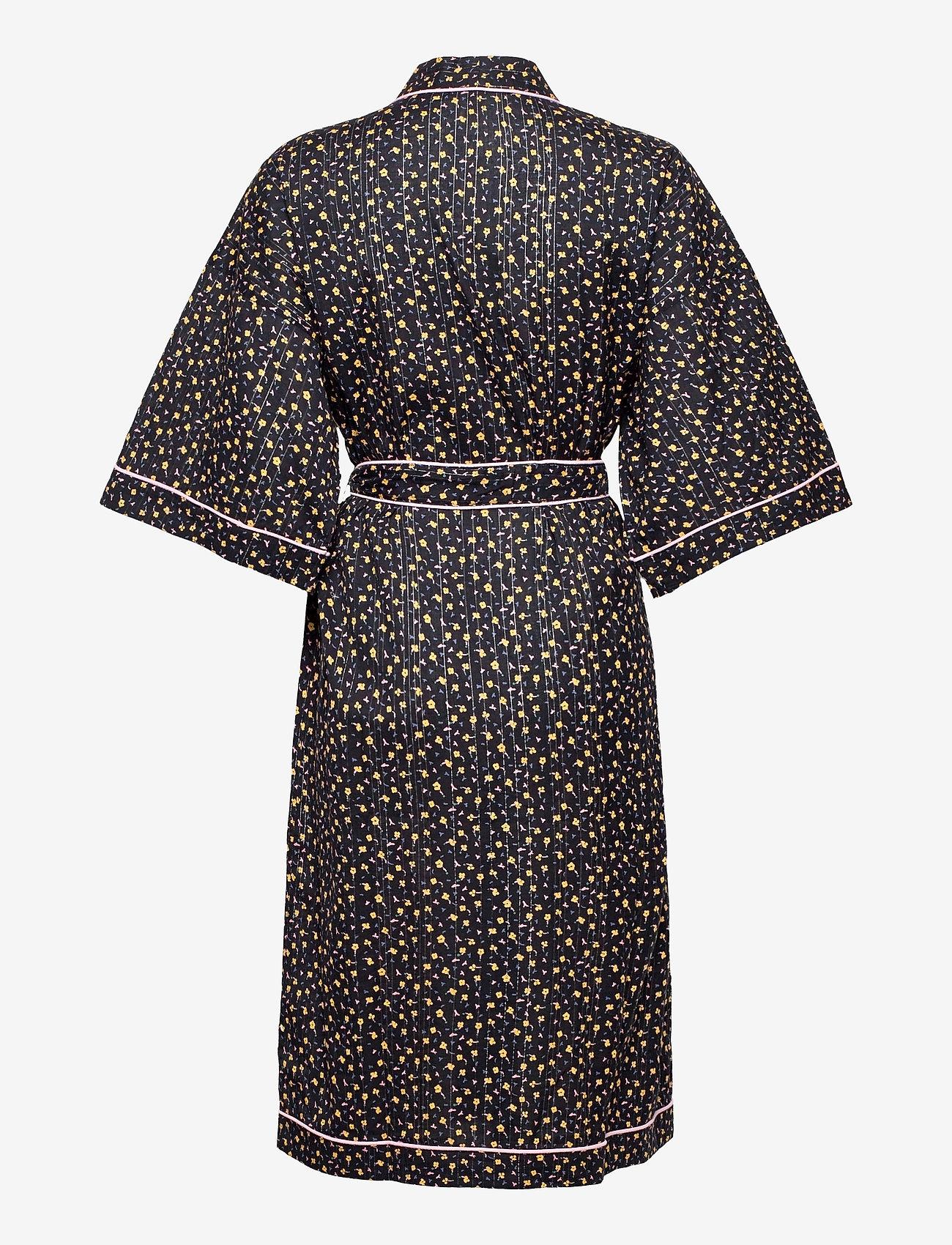 Becksöndergaard - Picola Liberte Kimono - kimonos - black - 1