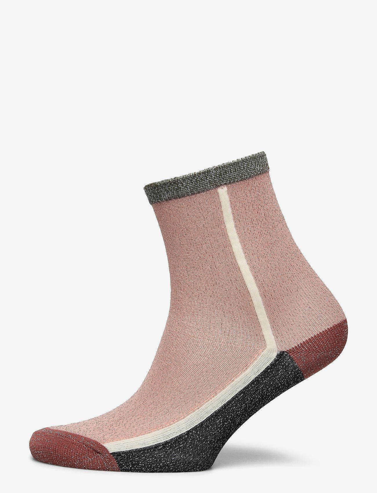 Becksöndergaard - Dean Summerblock Sock - sokker - dusty pink - 0