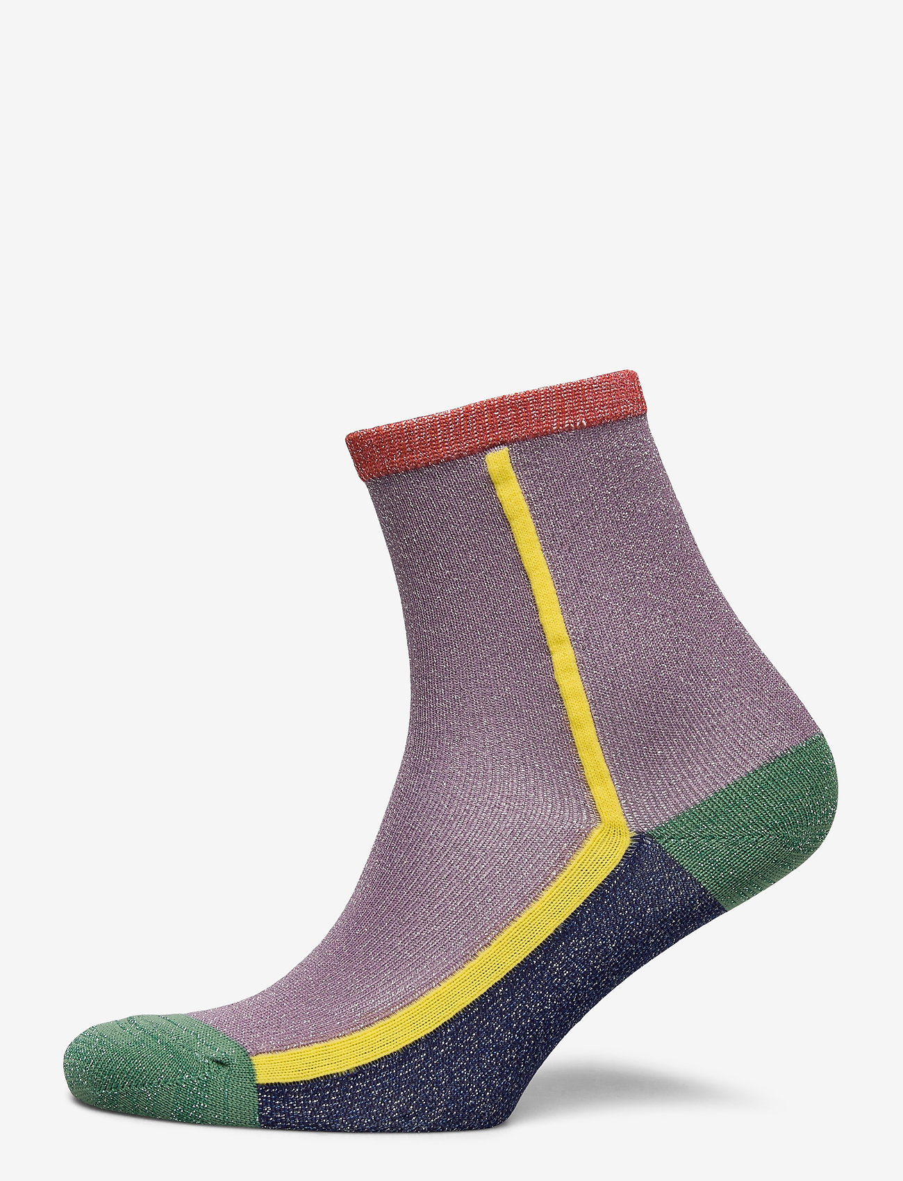 Becksöndergaard - Dean Summerblock Sock - sokker - lilas - 0