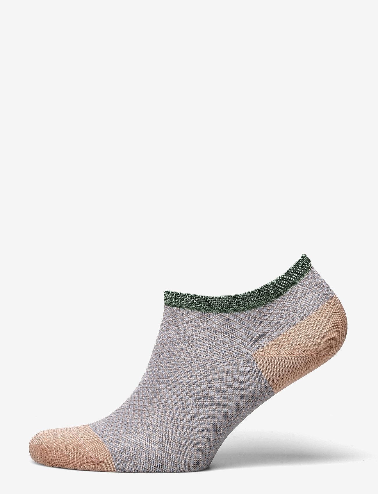 Becksöndergaard - Dollie Harlequin Sock - steps & footies - dusty pink - 0