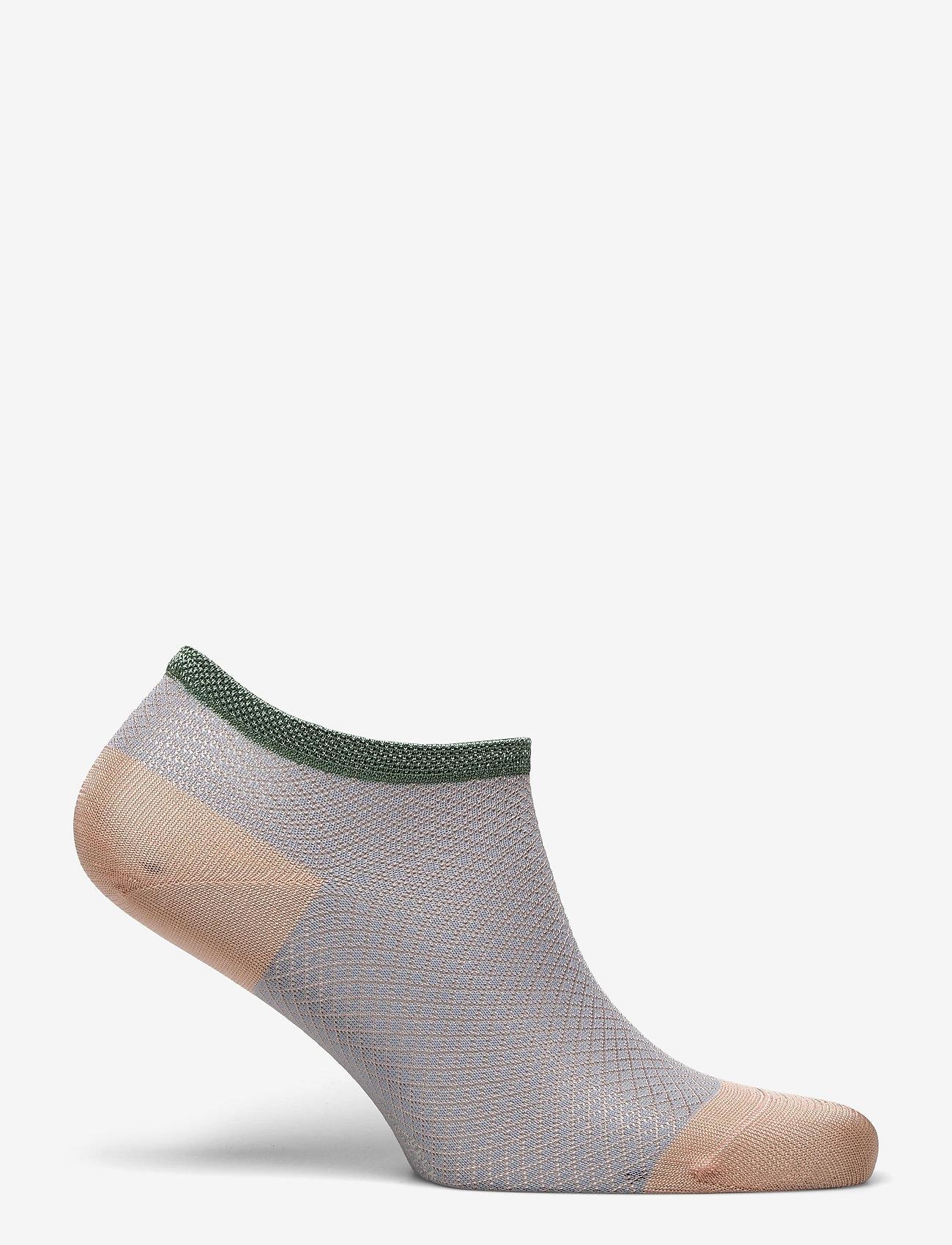 Becksöndergaard - Dollie Harlequin Sock - steps & footies - dusty pink - 1