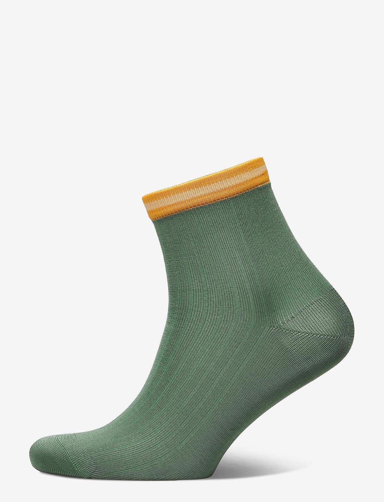 Becksöndergaard - Sporty Reina Sock - steps & footies - malachite green - 0