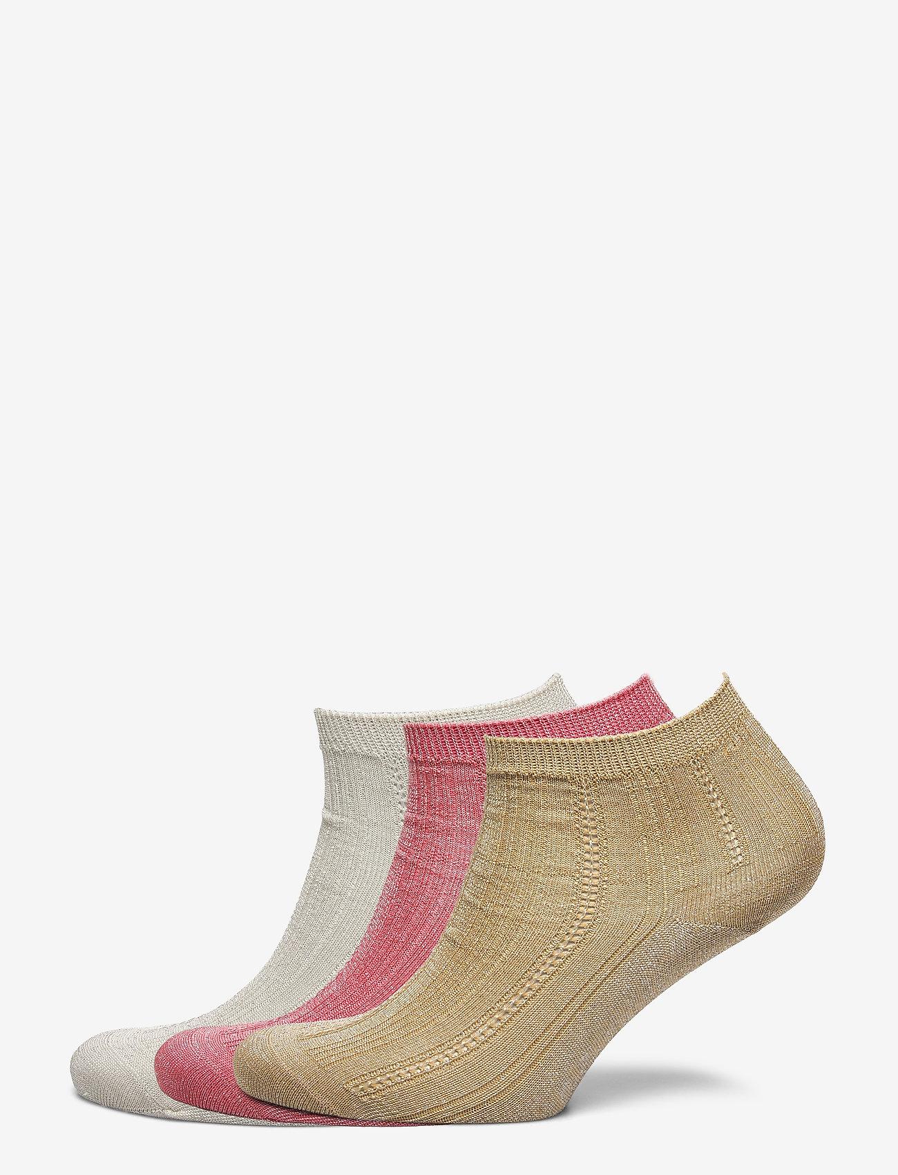 Becksöndergaard - Mix Sock Pack W. 15 - steps & footies - white/georgia/lark - 0