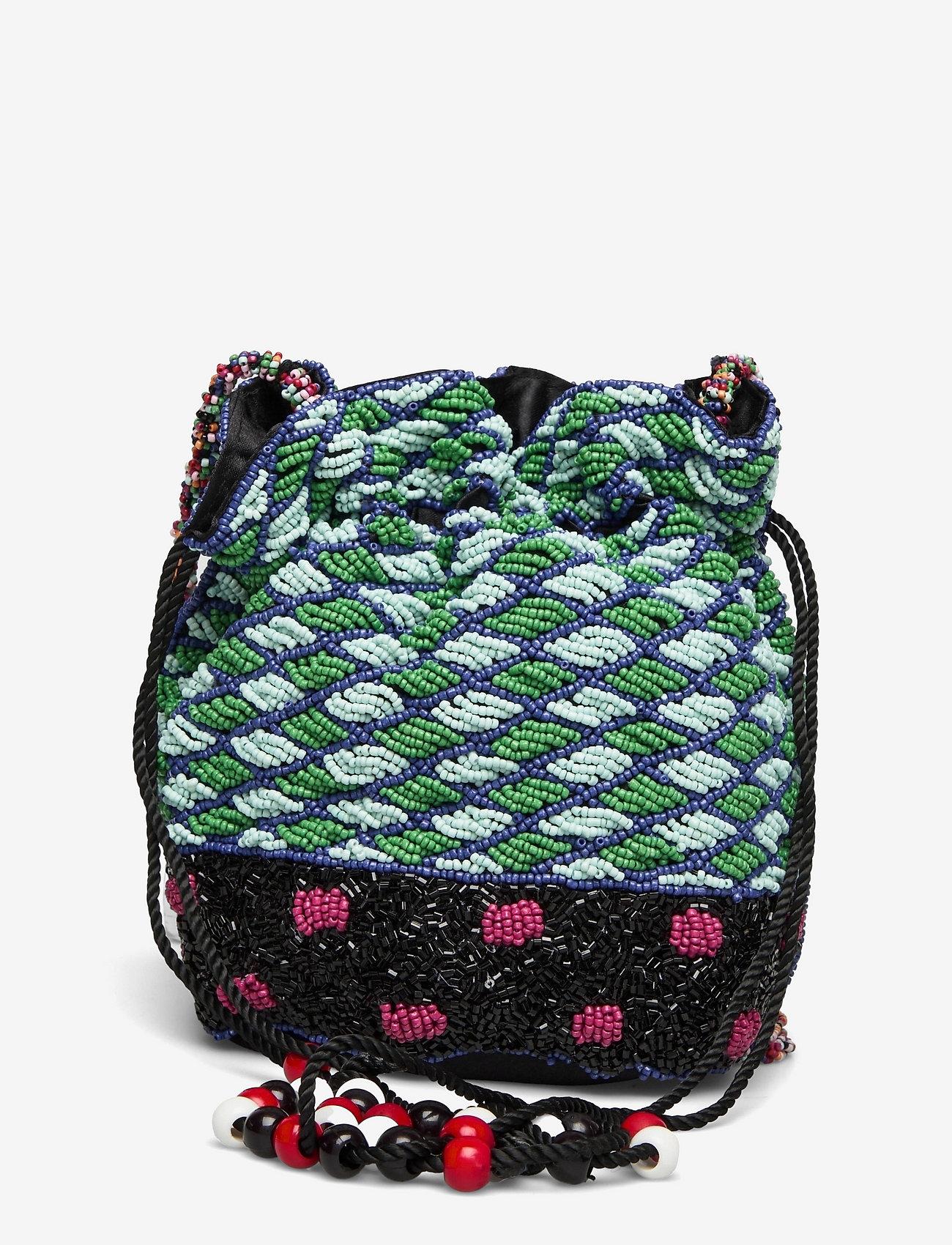 Becksöndergaard - Fuzzi Tora Bag - bucket bags - multi col. - 1