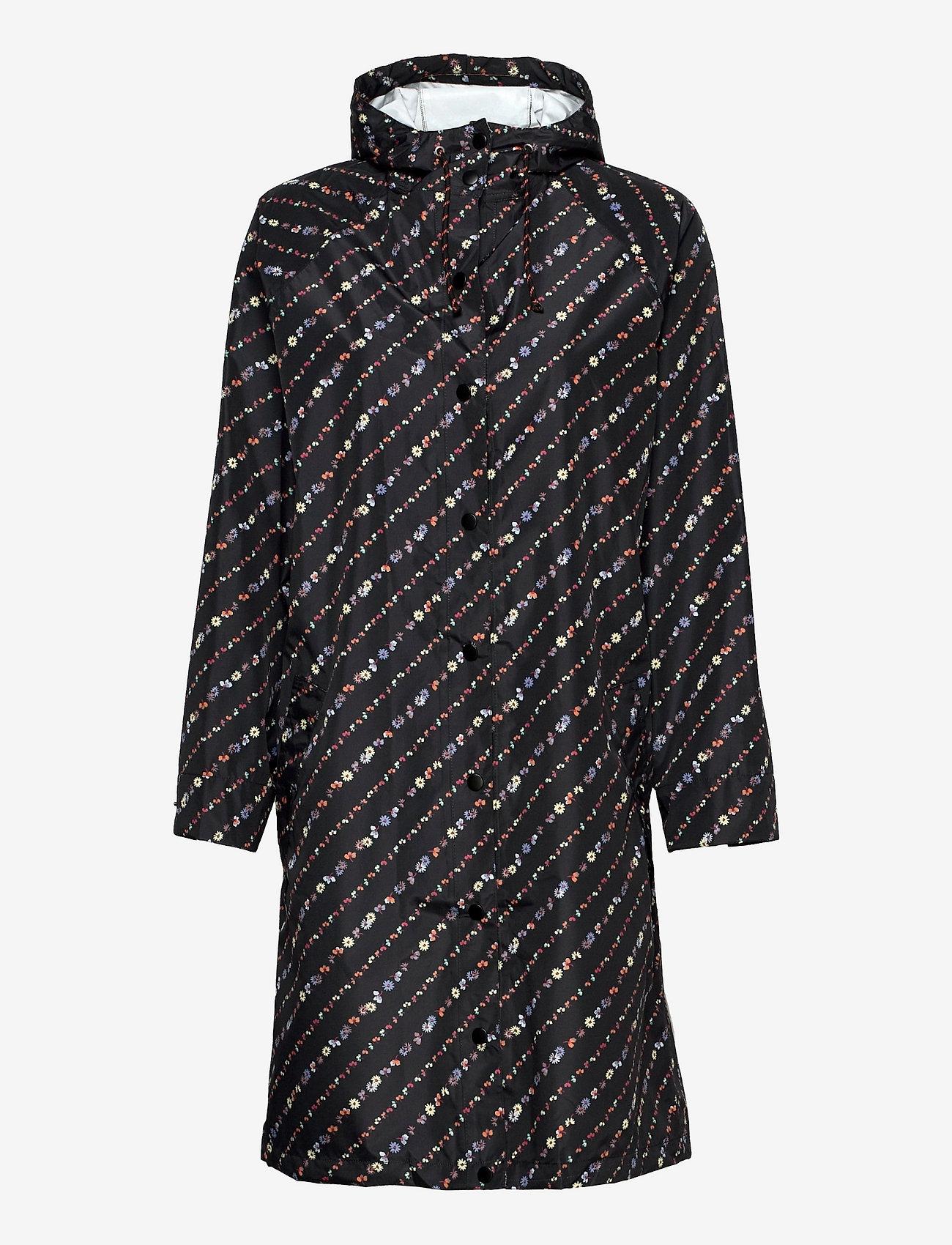 Becksöndergaard - Liluye Magpie Raincoat - manteaux de pluie - multi col. - 0