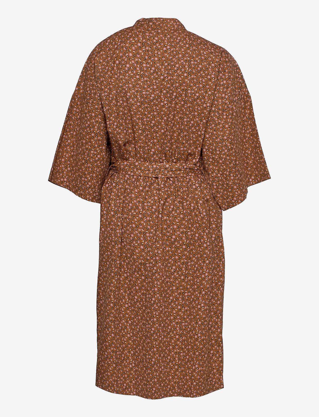 Becksöndergaard - Aiyana Liberte Kimono - undertøy - pecan brown - 1