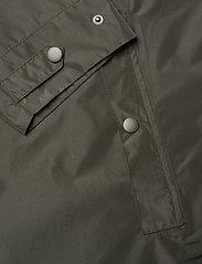 Becksöndergaard - Solid Magpie Raincoat - regntøj - army green - 4