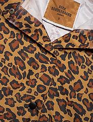 Becksöndergaard - Animal Magpie Raincoat - regnjakker - chocolate brown - 3
