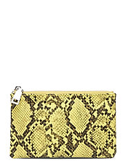 Snake Lyla Purse - YELLOW