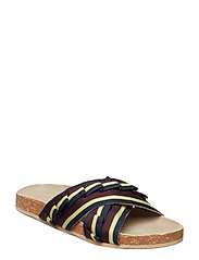 Gary sandal - BURGUNDY
