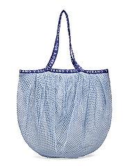 Reya Market Bag - POWDER BLUE