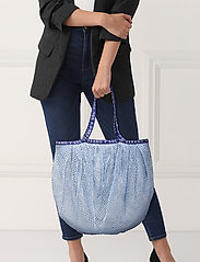 Becksöndergaard - Reya Market Bag - shoppere - powder blue - 0