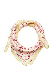 Dylan Dot Scarf - RED LOVE