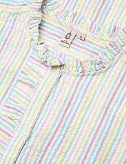 Becksöndergaard - Striped Casey Long Frill - midi kjoler - yellow - 3