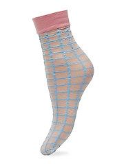 Dagmar Square Sock - LIGHT BLUE