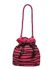 Zebra Tora Bag - CHINESE RED