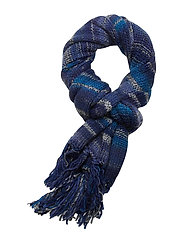 Janus Mix Scarf - NAVY BLUE