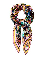 Pancho Flowers Scarf - MULTI COL.