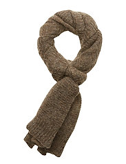 Janu Scarf - MELANGE BROWN