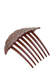 Sparkle Hair Clip - BROWNISH