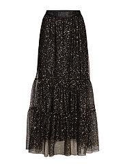 Paint Dot Nynne Skirt - BLACK