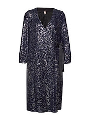 Sequins Everlee Dress - BLUE