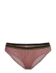 Tallie Sequins Mesh Bottom - ROSE