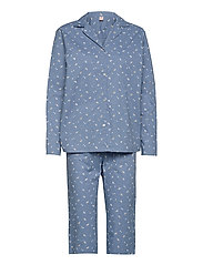 Tiny Flower Pyjamas Set - FOREVER BLUE