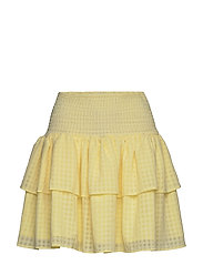 Lucent Eval Skirt - PASTEL YELLOW
