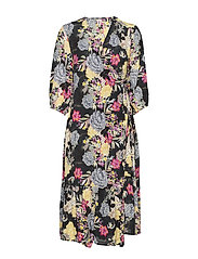 Tody Noral Dress - MULTI COL.