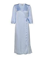 Holiday dress - CHAMBRAY BLUE