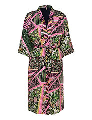 Flowerwhirl Kimono Dress - MULTI COL.