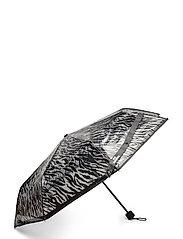 Zestroke Transparent Umbrella - BLACK