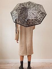Becksöndergaard - Zestroke Transparent Umbrella - umbrellas - black - 0
