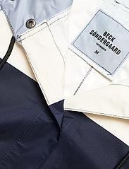 Becksöndergaard - Blockie Magpie Raincoat - sadevaatteet - blue - 4