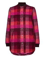 Check Woods Jacket - PINK