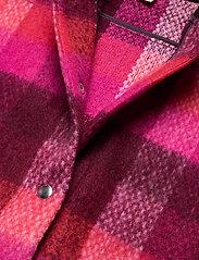 Becksöndergaard - Check Woods Jacket - villakangastakit - pink - 2