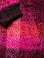 Becksöndergaard - Check Woods Jacket - villakangastakit - pink - 3