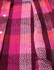 Becksöndergaard - Check Woods Jacket - villakangastakit - pink - 4