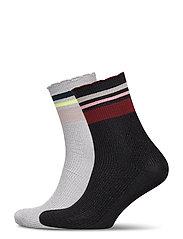 Mix Sock Pack W. 11 - BLACK / QARRY