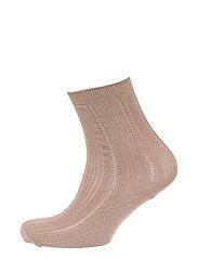 Glitter Drake Sock - SANDSTONE